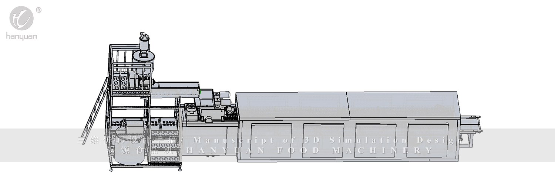 HY-Energy Bar Cereal Bar Equipment-Hanyuan Machinery